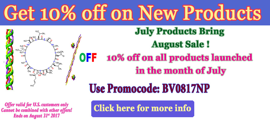 10% OFF July New Products
