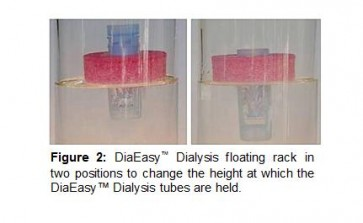 DiaEasy™ Dialyzer (10, 15, 20 ml) Floating racks