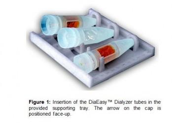 DiaEasy™ Dialyzer (3 ml) Supporting trays