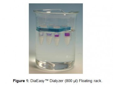 DiaEasy™ Dialyzer (800 µl) Floating racks