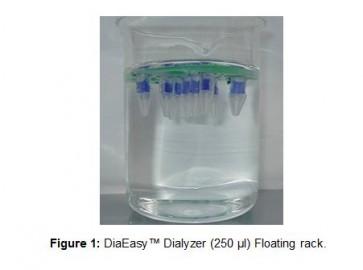DiaEasy™ Dialyzer (250 µl) Floating racks