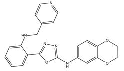 VEGFR-2 & tubulin inhibitor