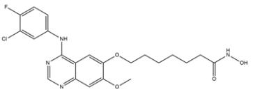 HDAC, EGFR & HER2 inhibitor