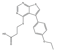 CK2 inhibitor