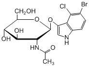 5-Bromo-4-chloro-3-indoxyl-N-acetyl-beta-D-glucosaminide