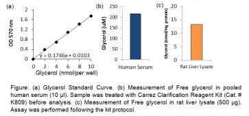 Free Glycerol Colorimetric/Fluorometric Assay Kit