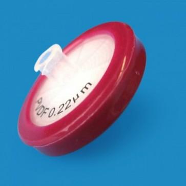 PVDF Syringe Filters, 0.22 µm, 33mm