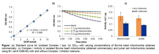 Mitochondrial Complex I Activity Colorimetric Assay Kit | K968 | BioVision, Inc.