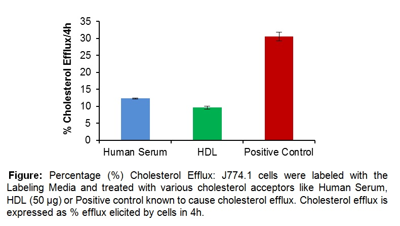 Cholesterol Efflux Fluorometric Assay Kit (cell-based)