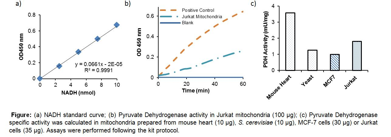 Pyruvate Dehydrogenase (PDH) Activity Colorimetric Assay Kit